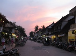 Sunsets over Luang Prabang
