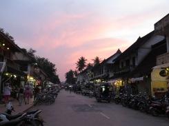 Sunsets over Luang Prabang