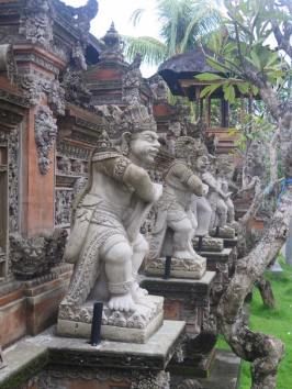 Temples in Ubud